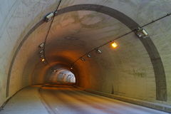 No vehicular tunnel. Photo of No vehicular tunnel Royalty Free Stock Photography