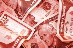 No vermelho Imagem de Stock Royalty Free