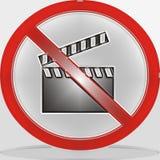 No Video Stock Image
