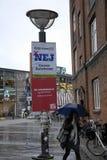 NO VOTE POSTER FOR EU REFERENDUM Stock Photography