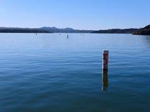 No wake zone on lake Stock Photography
