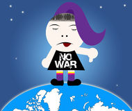No War Royalty Free Stock Photography