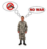 No war concept Royalty Free Stock Photo