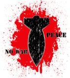 No war poster Stock Photography