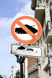 No war signal 2. No war signal isolated and with clipping path stock photo