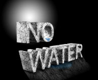 No water Royalty Free Stock Images