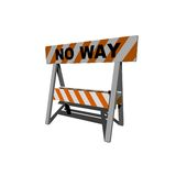 No way! Royalty Free Stock Photos