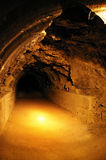 No Way Out. A collapsed world war 2 tunnel Stock Image