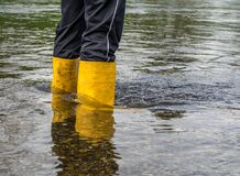 Free No Way Out Flooding Climate Change Stock Photo - 193719610