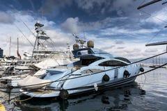 No yacht club imagens de stock