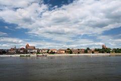 no1 панорама Польша torun стоковая фотография rf