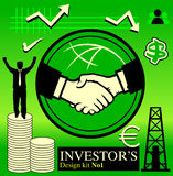 No1 del pacchetto dell'investitore Immagini Stock Libere da Diritti