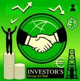 No1 do bloco do accionista Imagens de Stock Royalty Free