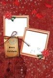 No1 do frame do Natal Fotos de Stock Royalty Free