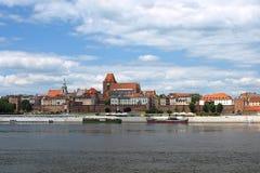 no2 панорама Польша torun стоковое изображение rf