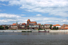 no2 panorama poland torun Royaltyfri Bild