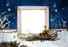 No3 del blocco per grafici di inverno Fotografie Stock Libere da Diritti