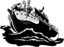 Noah arki ilustracja ilustracji