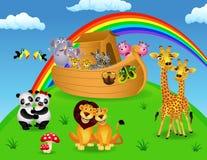 Noah bak Stock Afbeelding