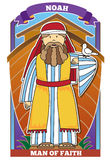 Noah - Bibel-Zeichen Lizenzfreie Stockbilder