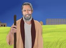 Noah e a arca ilustração royalty free