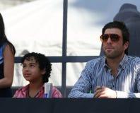 Noah Grigio-Cabey e Zachary Quinto Fotografie Stock