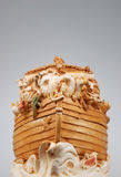 Noah's Ark. A cute toy representation of Noah's Ark Stock Image