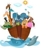 Noah's Ark. Vector Illustration of a Noah's Ark Stock Photo