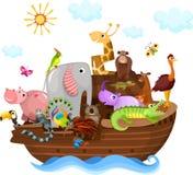 Noah's Ark. Vector illustration of a Noah's Ark Stock Photos