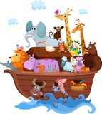 Noah's Ark. Vector illustration of a Noah's Ark Stock Photo