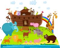 Noah's Ark. Vector Illustration of a Noah's Ark Royalty Free Stock Images