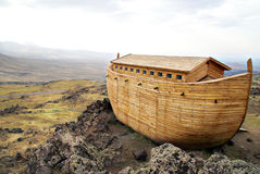 Noah's Ark. On Mount Ararat