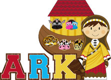 Noah`s Ark and the Animals Royalty Free Stock Photos