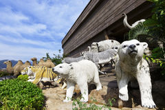 Noah's ark. At day against blue sky Stock Image