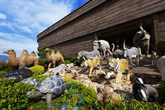 Noah's ark. At day against blue sky Royalty Free Stock Photography