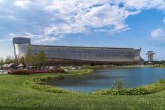 Noah`s ark. A full size of Noah`s ark on display at The ark encounter Royalty Free Stock Photos