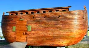 Noah's ark model. Constructed Noah's ark model in Tukey Stock Photo