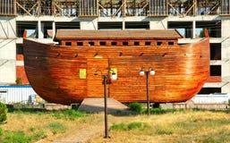 Noah's ark model. Constructed Noah's ark model in Tukey Stock Photos