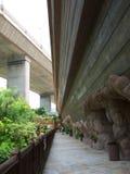Noah's ark park. Public garden in the noah's ark park in Ma Wan, Hong Kong stock photos