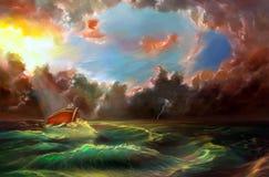 Noah ` s arka ilustracja wektor
