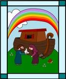 Noah s bak vector illustratie