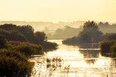 Free Noah S Lake At Shapwick Heath National Nature Reserve Stock Images - 79513584