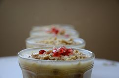 Noah ` s pudding jest tureckim deserem zdjęcia royalty free