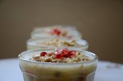 Noah`s pudding is a turkish dessert royalty free stock photos