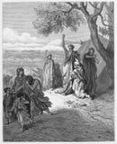 Noah som förbannar Kanaan Royaltyfria Foton