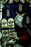 Noah und die zehn Gebote Lizenzfreies Stockbild