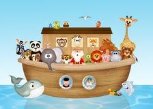 Noah& x27; arca de s Imagens de Stock Royalty Free