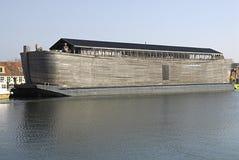 Noahs平底船船 免版税图库摄影