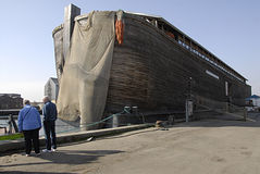 Noahs平底船船 图库摄影