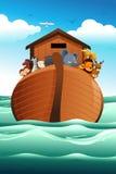 Noahs平底船 库存照片